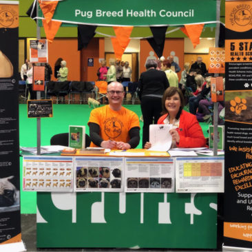Pug Health Scheme Exhibition Stand
