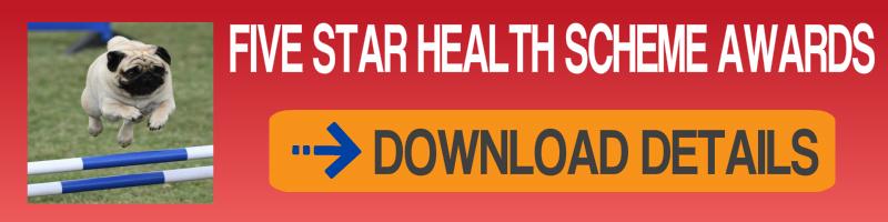 Pug Five Star Health Scheme